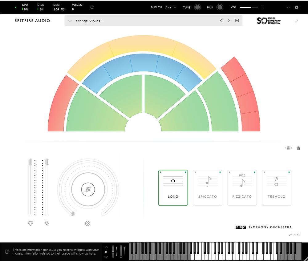 BBC Symphony Orchestra Discover VST plugin