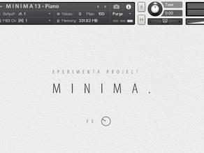 Minima is a great new FREE Kontakt instrument