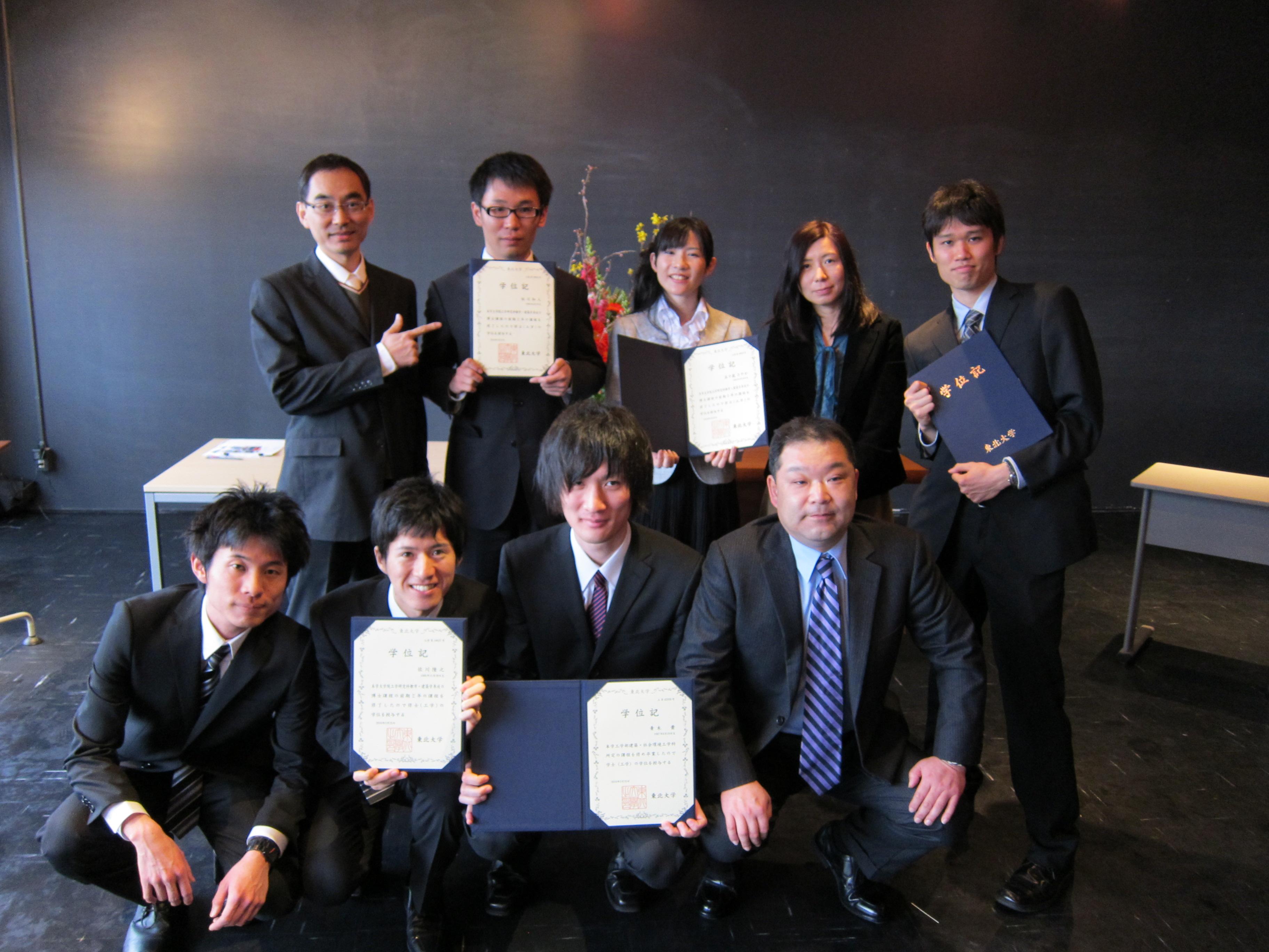 201003卒業祝賀会