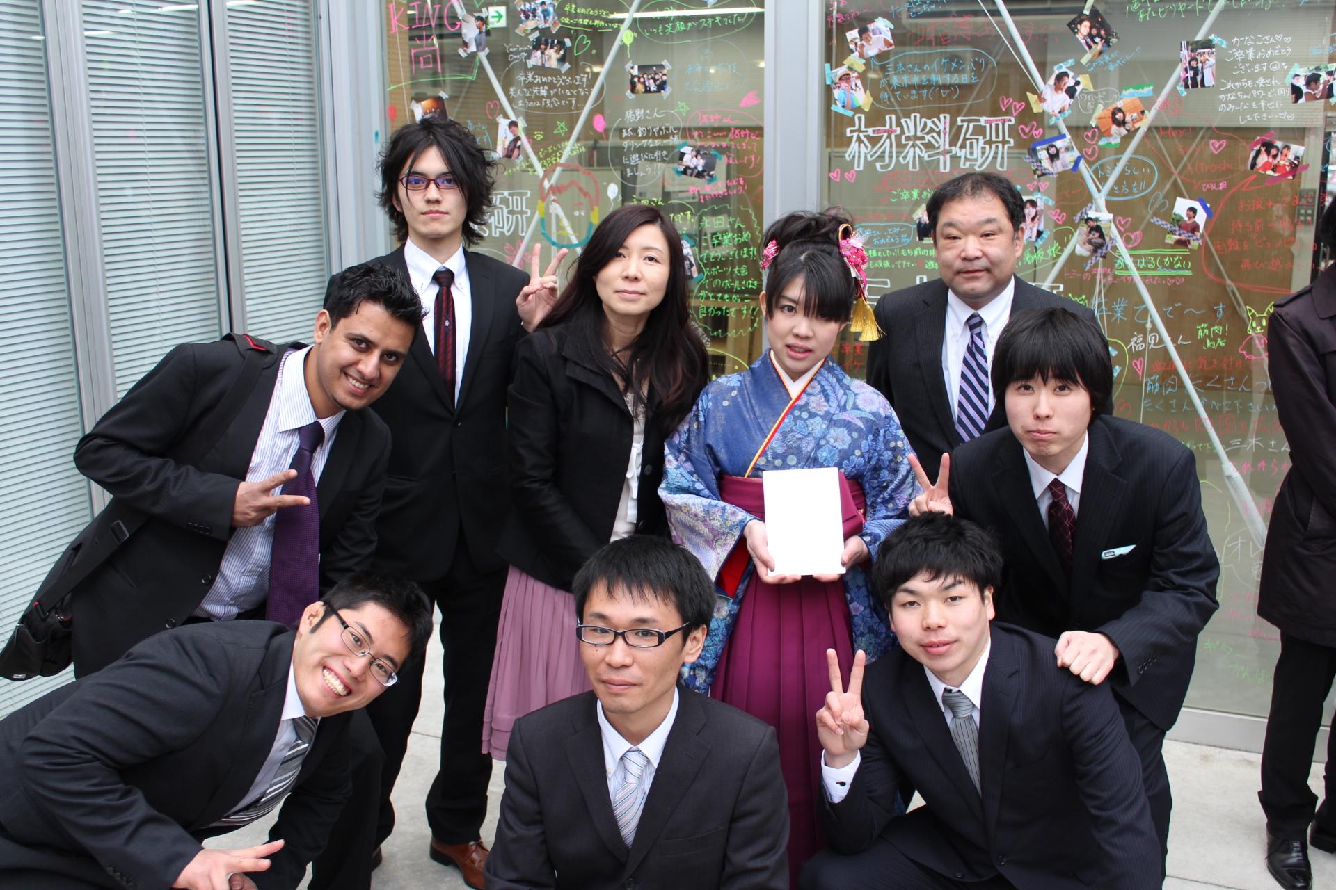 20130327卒業祝賀会