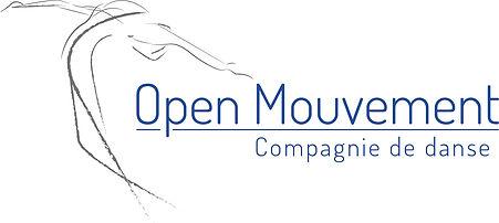 Logo Open Mouvement - compagnie de danse