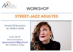 street-jazz open mouvement