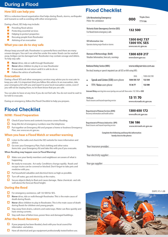 FloodSafe Guide - How to Plan and Prepar