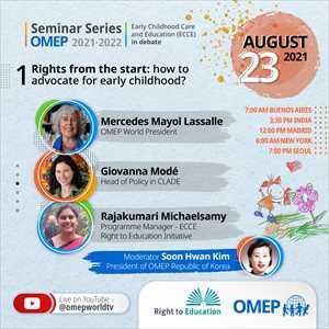 【世界OMEPより】the OMEP Seminar Series 2021-2022.(8/23)のお知らせ