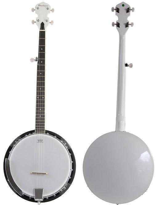 White 5 String Banjo