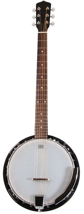 6 String Banjo Guitar Left Handed