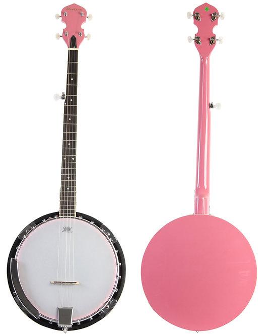 Limited Edition Pink 5 String Banjo