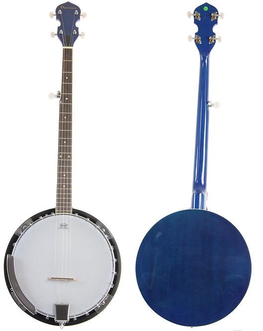 Blue 5 String Banjo