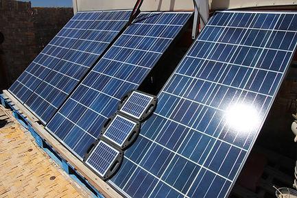 Rancho Cactimar solar panels