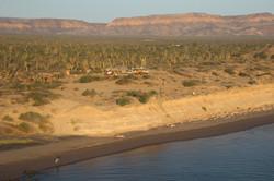 Rancho Cactimar desert and sea eco ranch Baja Basse Californie
