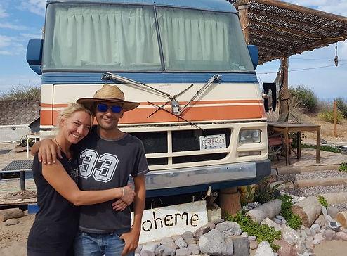 Rancho Cactimar Marjorie Arbonne Benneton & Jean-Christophe Arbonne