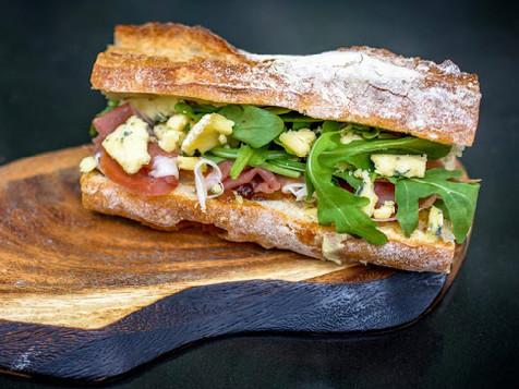 Parma Ham Baguette