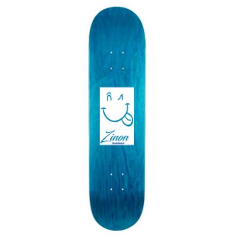 "Zinon Skateboard Deck logo Classic 8.25"""