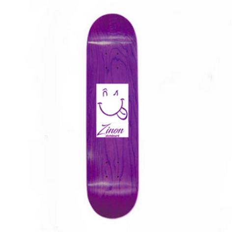 "Zinon Skateboard Deck logo Classic 7.75"""