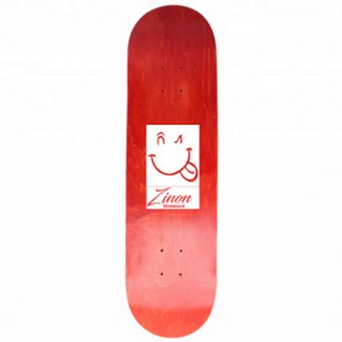 "Zinon Skateboard Deck logo Classic 8.0"""