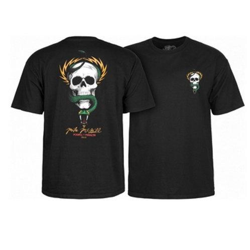 T-shirt Powell Peralta  Black  McGill Skull And Snake
