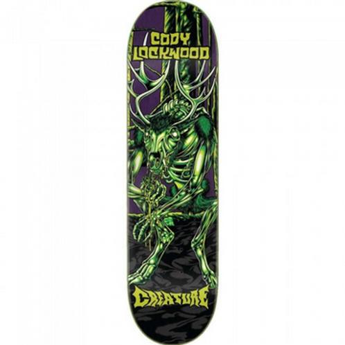 "Creature Lockwood Swamp Lurker 8.375"" planche skateboard"
