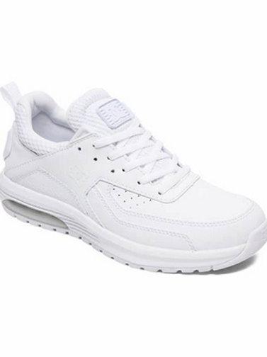 DC Shoes Vandium White - BASKETS FEMME