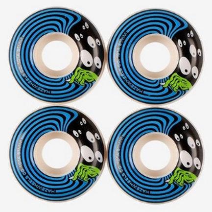 HAZE WHEELS SNEAK ROUE (WHITE BLUE) 51MM 101A