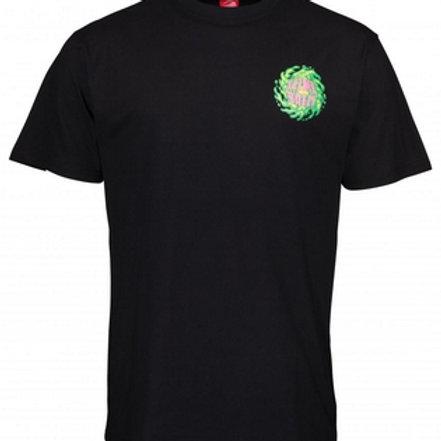 Santa Cruz Tee-Shirt Slim Ball Black