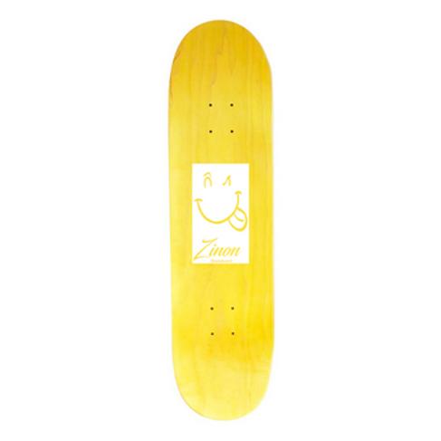 "Zinon Skateboard Deck logo Classic  8.5"""