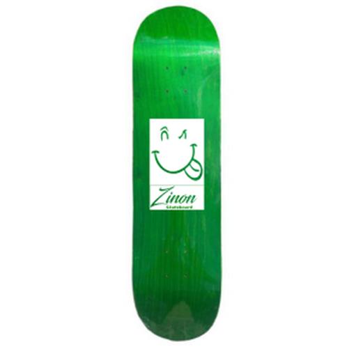 "Zinon Skateboard Deck logo Classic 8.125"""