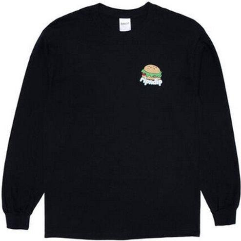 Rip N Dip Fat Hungry Baby Skate T-shirt Manche Longues
