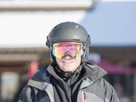Dr. Cafferky On The Slopes with Total Joints Patients