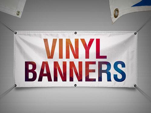 1000mm - 5000mm Vinyl Banner