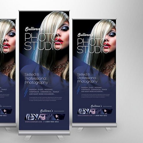1000mm X 1600mm Pull-up Banner