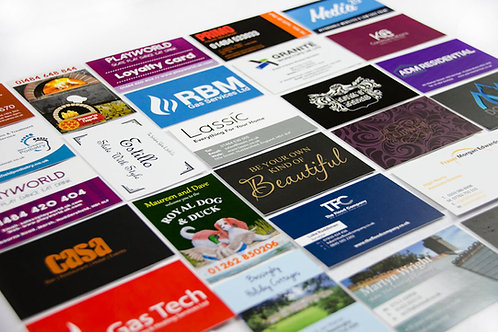 Economy Business Cards (Print, Print + Mat)