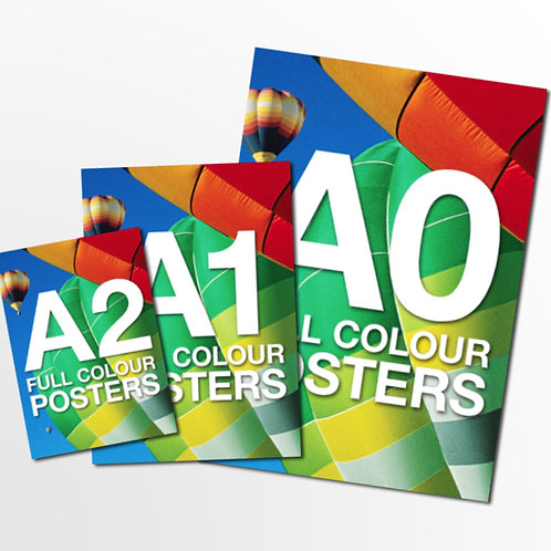 A2 to A0 Poster Price From