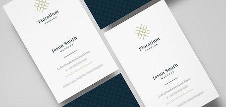 Velvet Laminate Business Cards