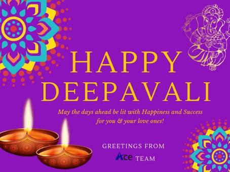 Happy Deepavali Greetings - Ace Team