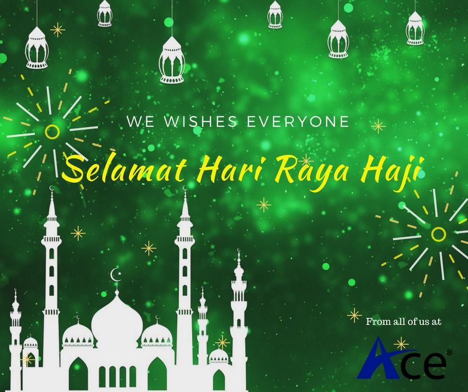 Selamat Hari Raya Haji from Team Ace