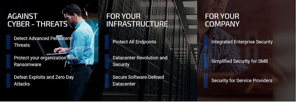 Keep your enterprise safe against sophisticated cyber threats