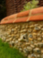 flint wall suffolk contractor, flint work, flint walls, flint images, flint man service