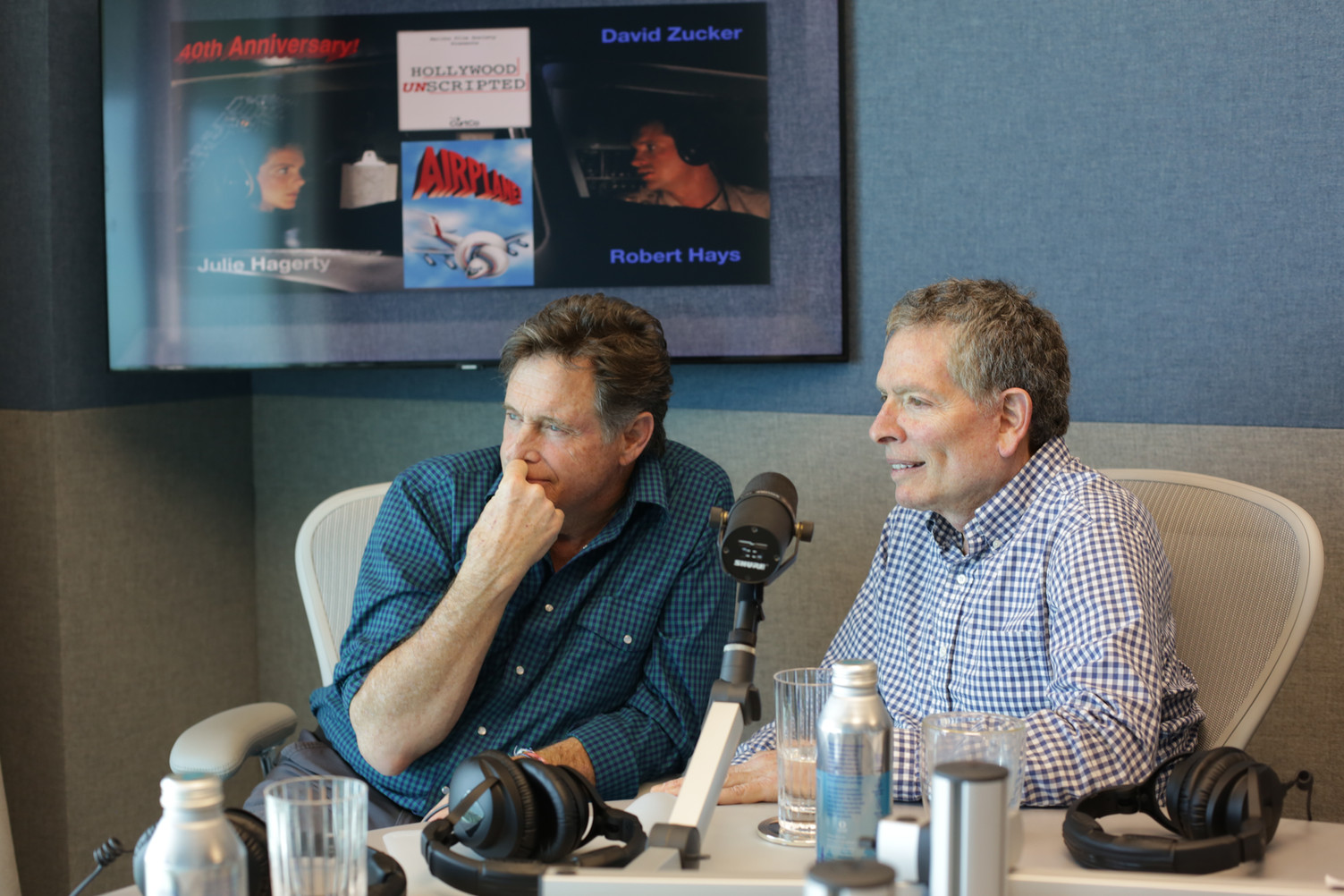 Ep 19 - AIRPLANE! A 40TH ANNIVERSARY CELEBRATION   Guests: Robert Hays and David Zucker