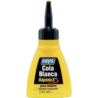 Cola Blanca Rápida para Madera