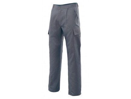 Pantalón Multibolsillos Gris