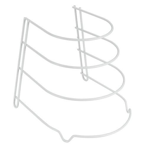 Sartenero 4 Alturas Plástico Blanco