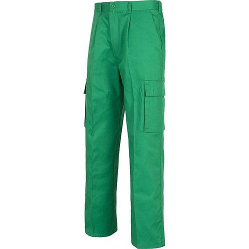 Pantalón Multibolsillos Verde