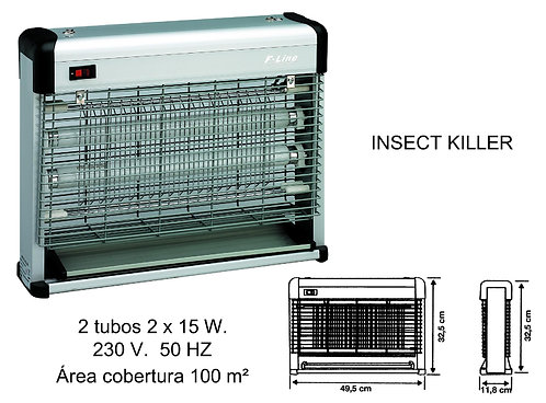 INSECT KILLER REF 2400507 2X15 W.