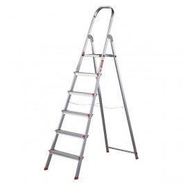 Escalera Doméstica en Aluminio