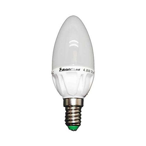 LAMPARA LED VELA E-14 400 LM  5.2 W