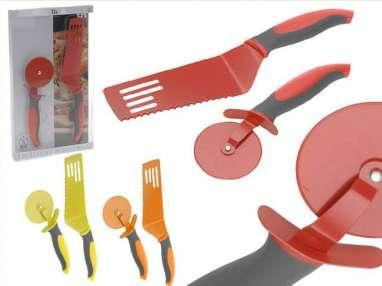 Set Pizzas Inox de Color