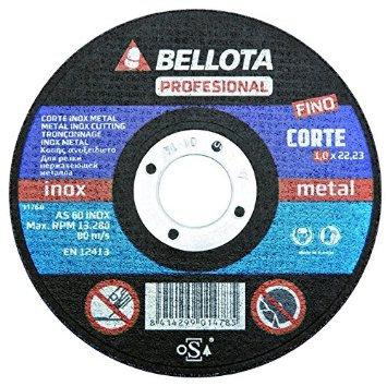 DISCO CORTE 115X1X22.23 BELLOTA