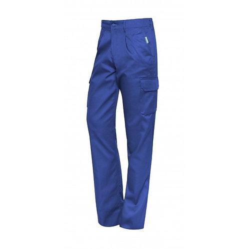 Pantalón Multibolsillos Azul