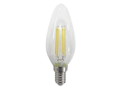 Lámpara Vela Filamento de Led