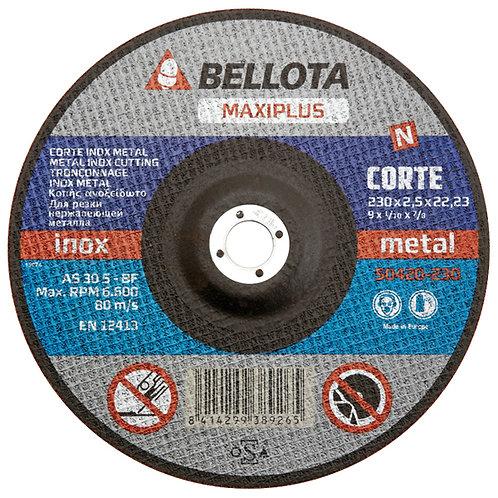 DISCO DE CORTE 230X1.9X22.3 (BELLOTA)